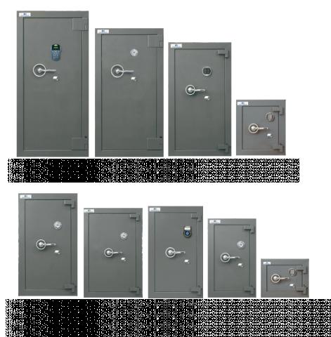 Cajas Fuertes Serie 800 Ligera Desmontable