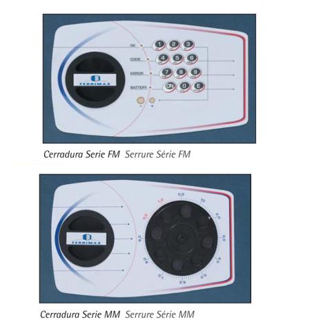 Mechanical or electronic locks